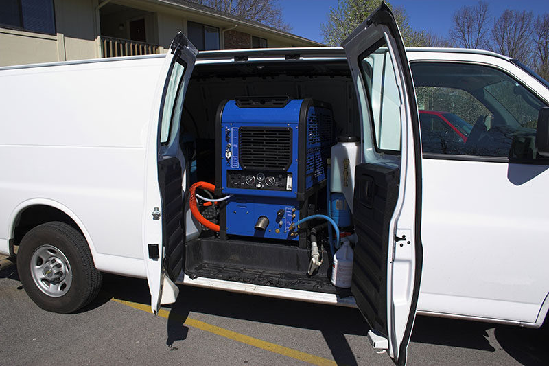 How A Truck Mount Carpet Cleaning Machine Works